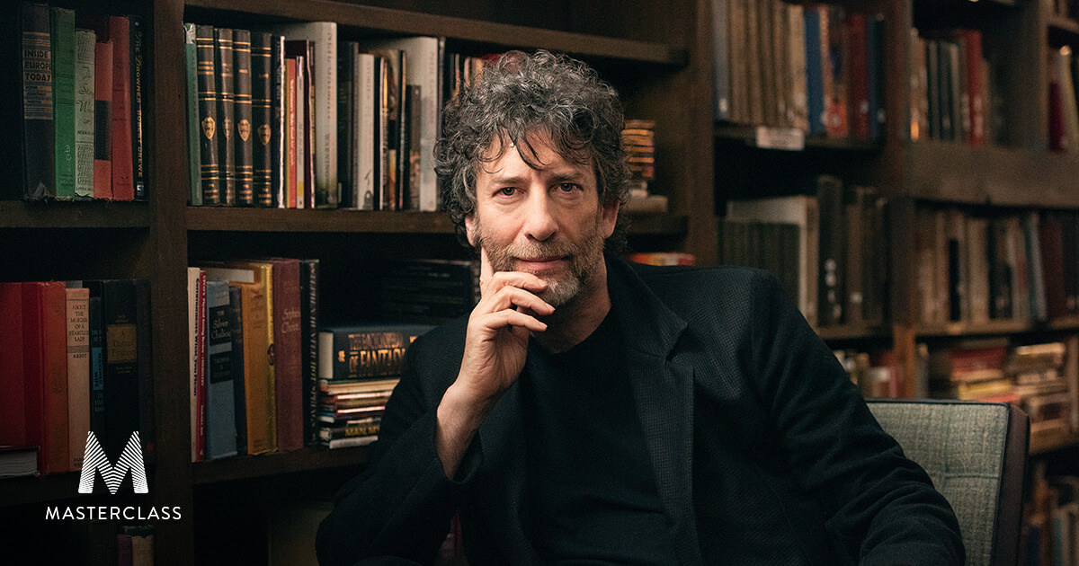 neil gaiman teaching writing novel