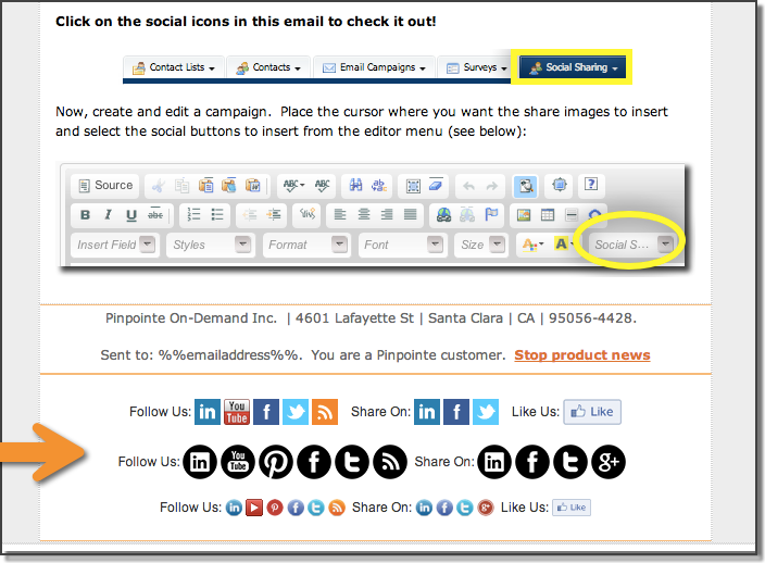 pinpointe discount codes for email marketin
