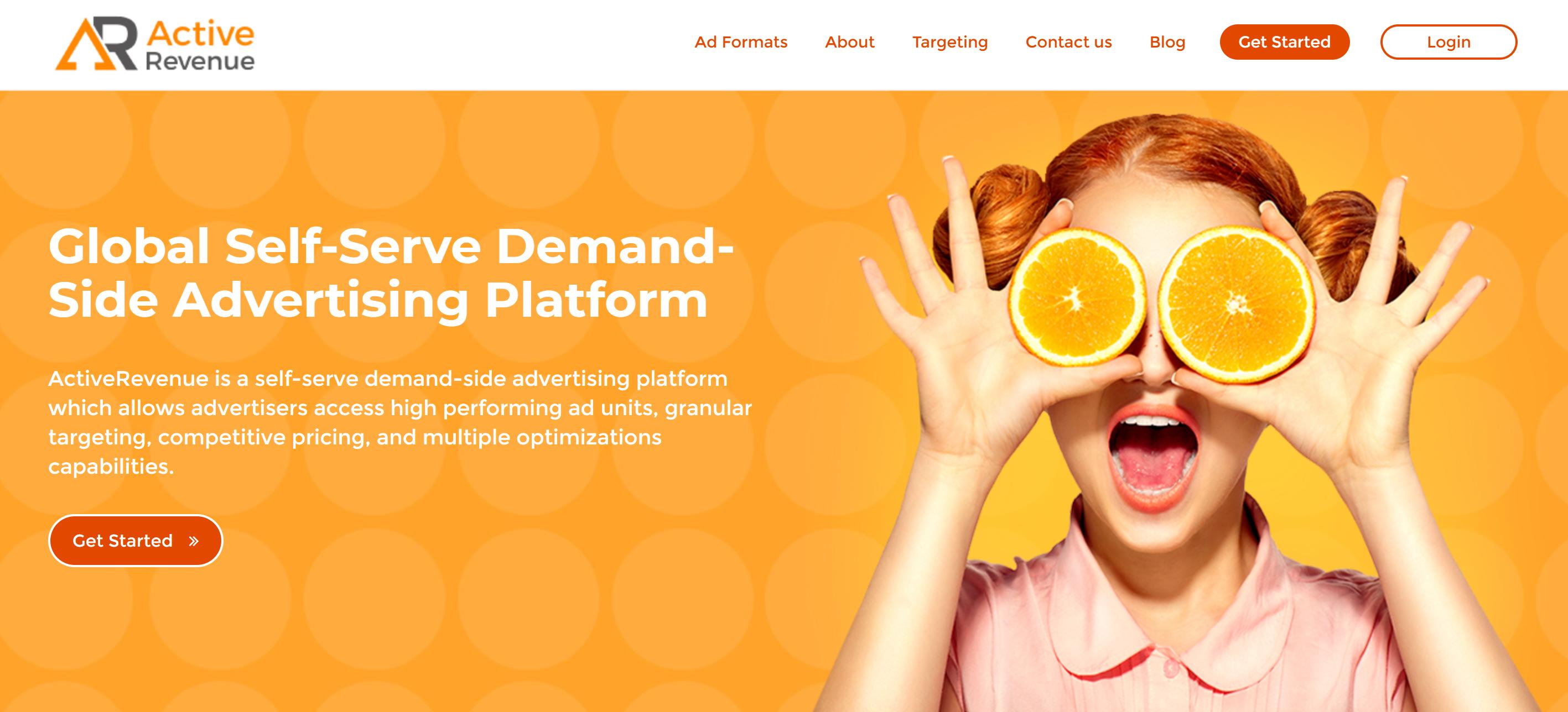 Active Revenue Push ad network
