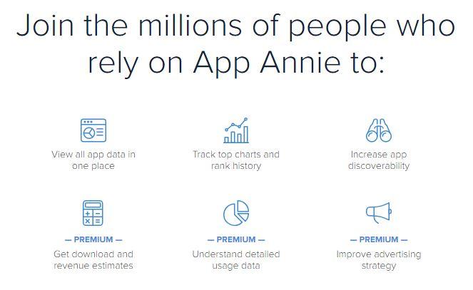 App Annie review details