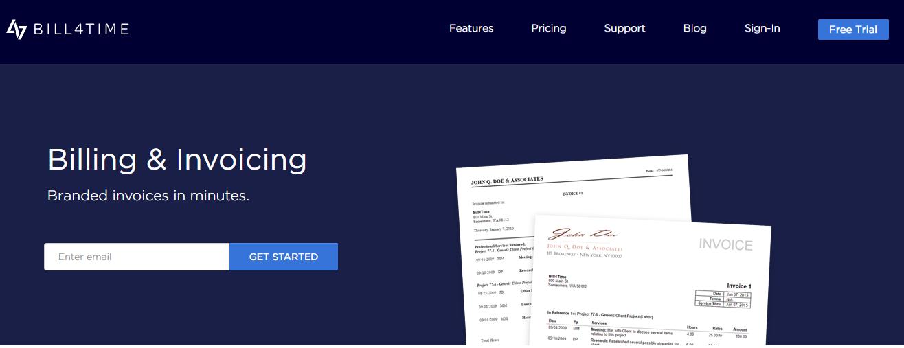 Bill4Time Invoicing
