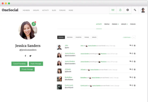 BuddyBoss Review With Discount Coupon Codes- OneSocial Theme