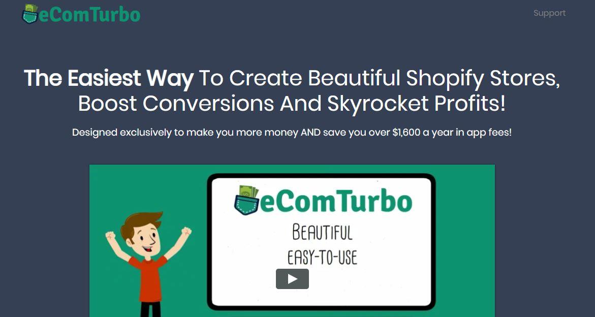 Ecom turbo theme vs Shopify Turbo theme