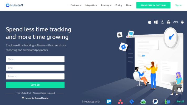 Hubstaff Review- Time Tracking Software for Productive Teams