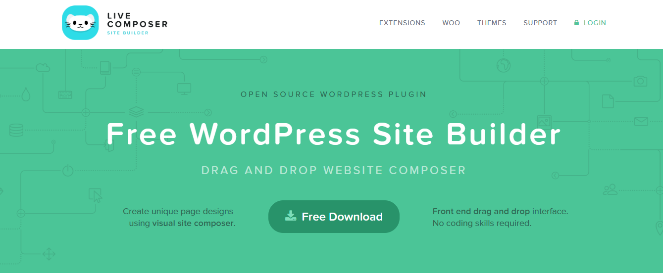 Page Builder for WordPress 100 Free Plugin – LiveComposer