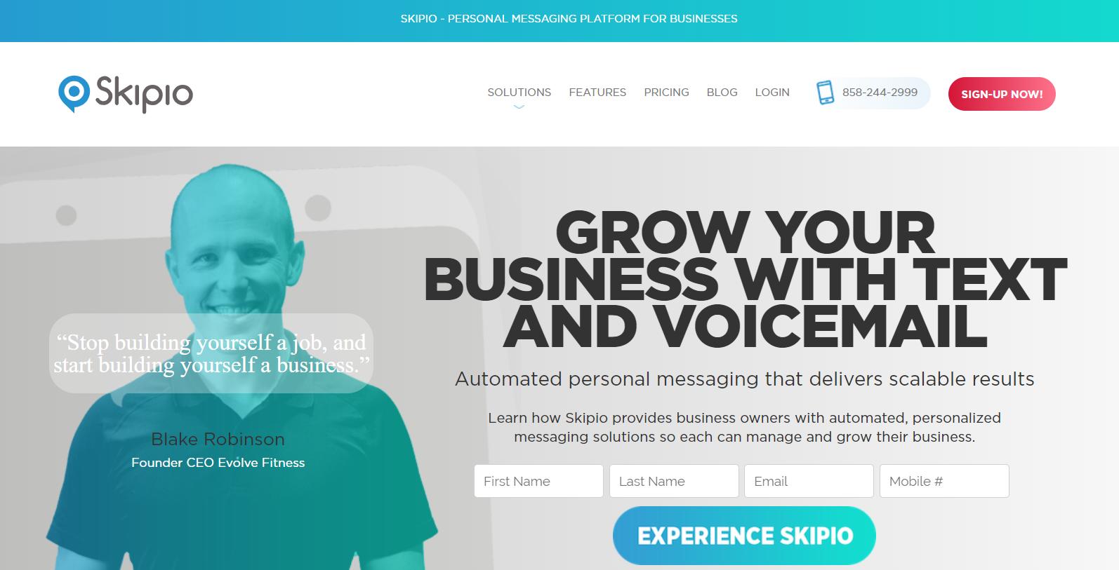 Skipio Review- Messaging Platform