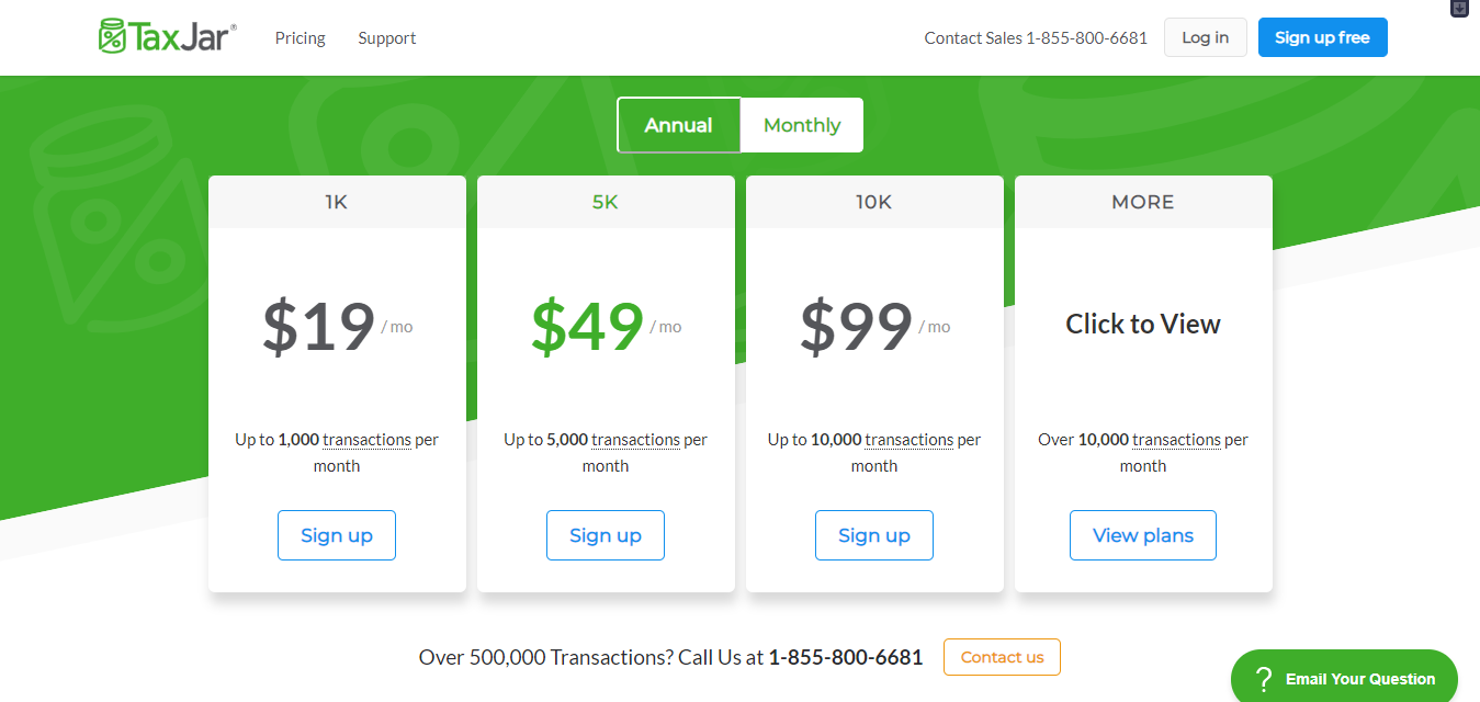 Taxjar review with coupon 2019