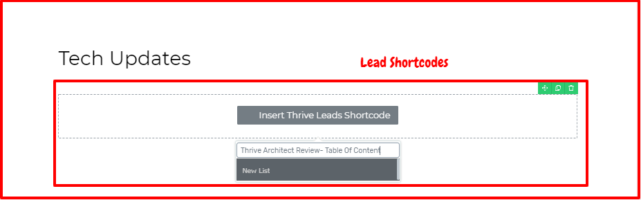 Thrive Architect Review- Lead generation