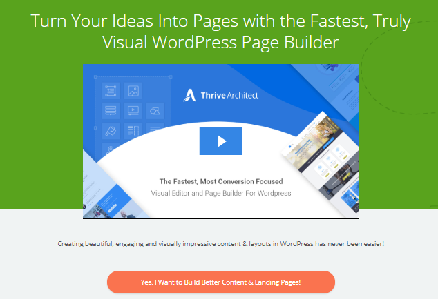 Thrive Architect Review- WordPress Page Builder for Online Business Creators