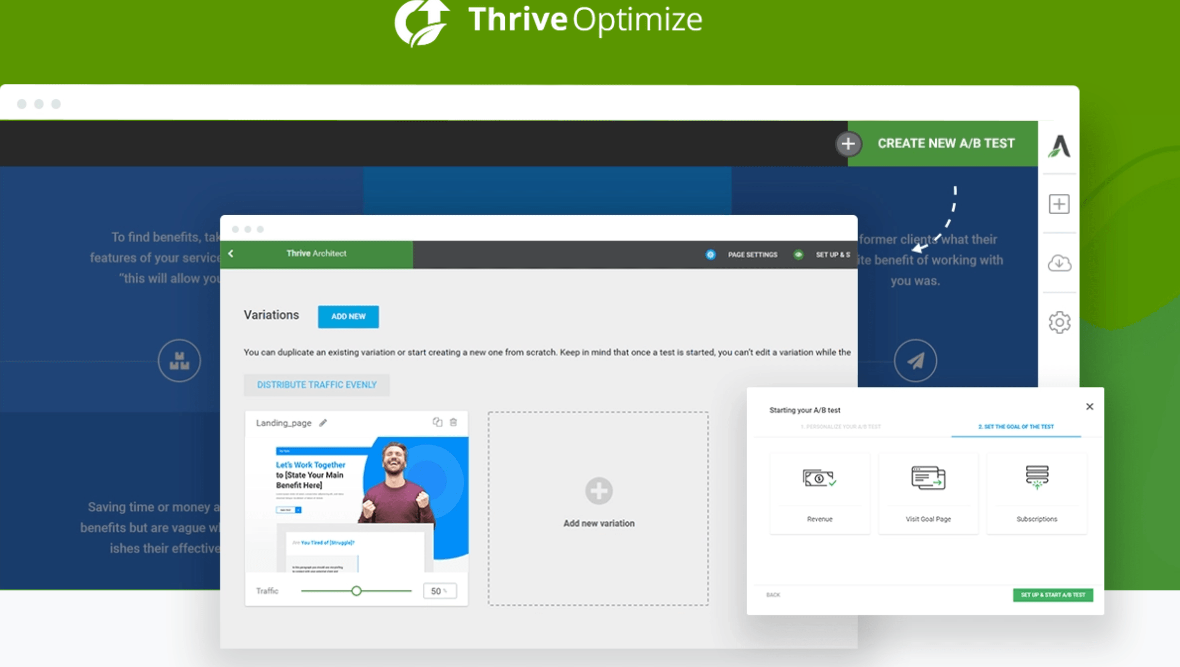 Thrive Optimize features and reviews
