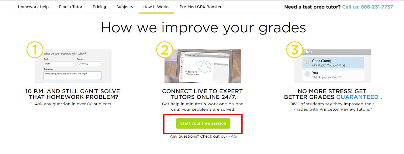 homework help- The Princeton review