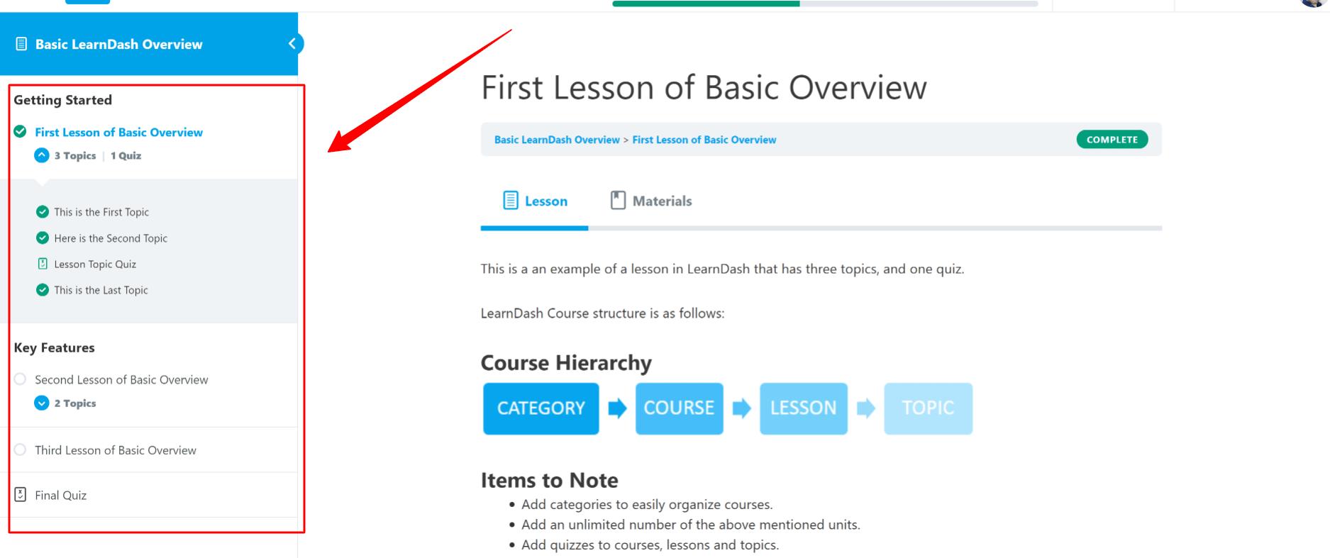learndash earning Experience