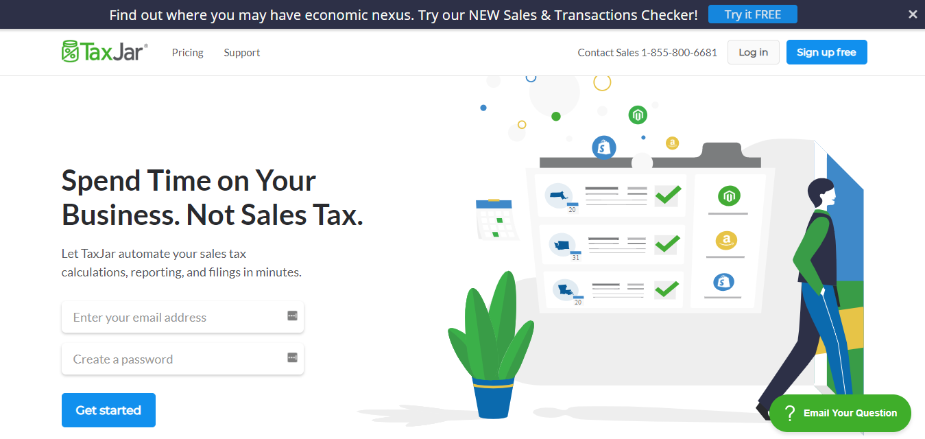 review for Taxjar with online software