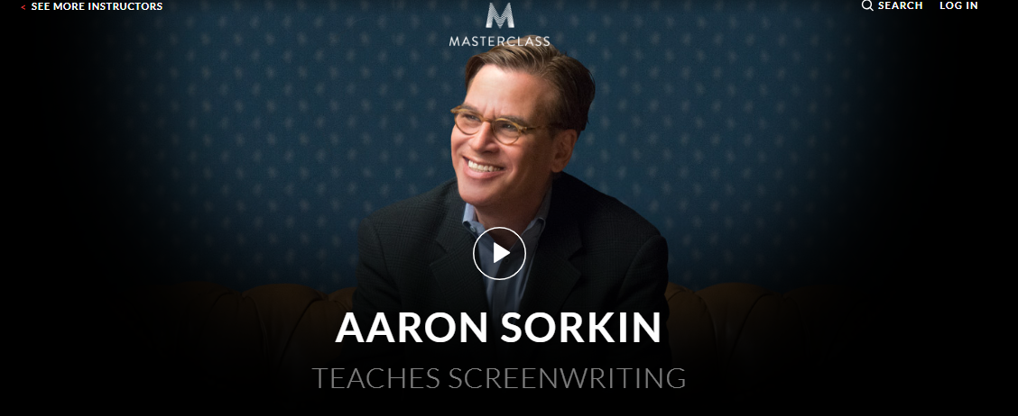 Aaron Sorkin MasterClass Review- The Best Screenwriting Course