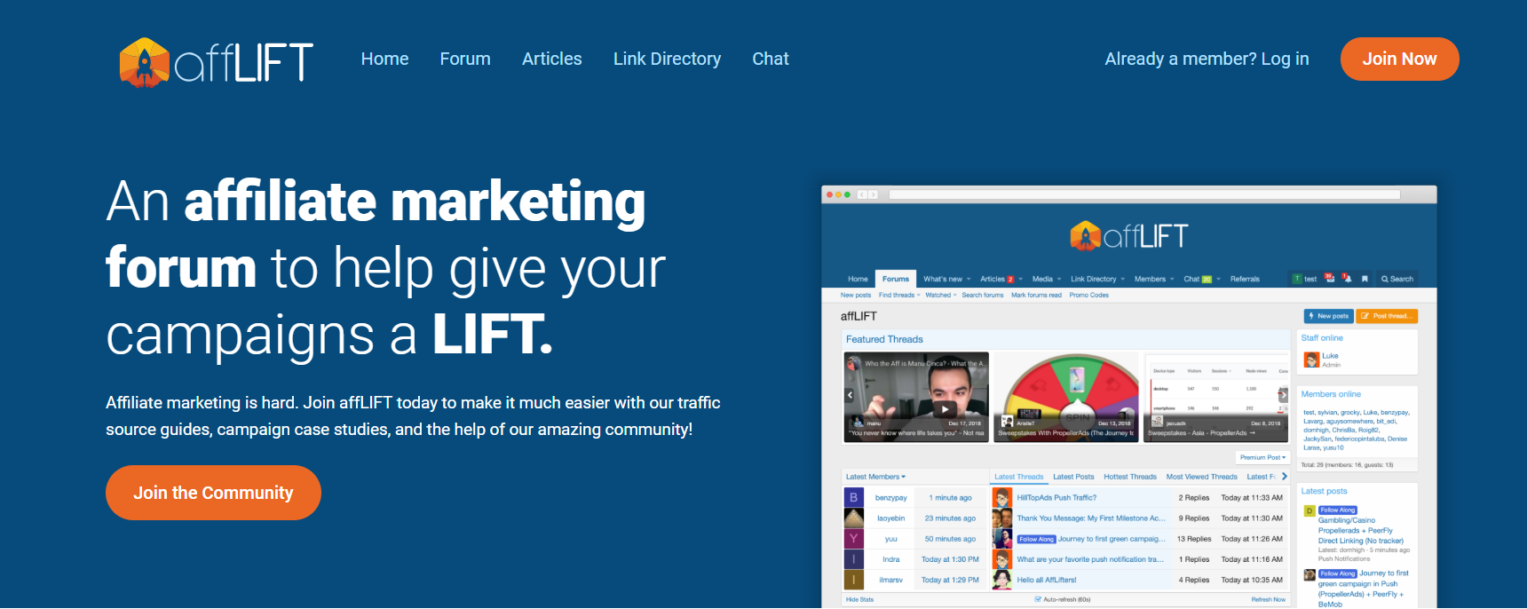 AffLIFT Review- The Affiliate Marketing Forum Community