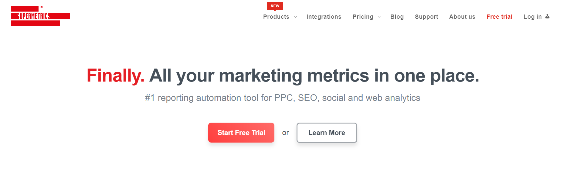 Best Conversion Rate Optimization Tools- Supermetrics