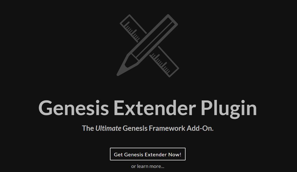 Cobalt Apps Review- Genesis Extender Plugin