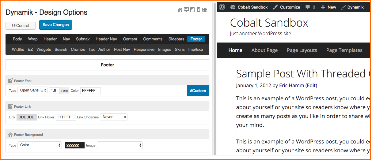 Cobalt Apps Review- Live Preview Mode