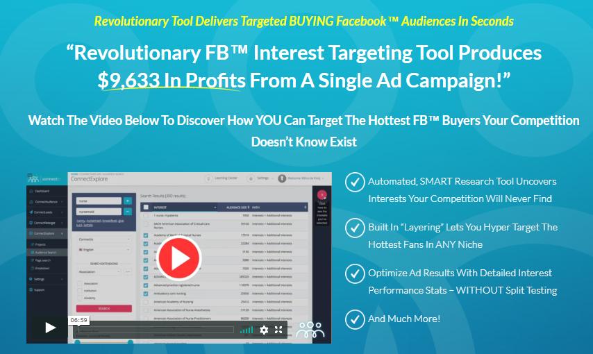 ConnectExplore- Best Facebook Ads Automation Tools