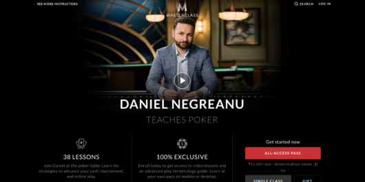 Daniel Negreanu Masterclass review