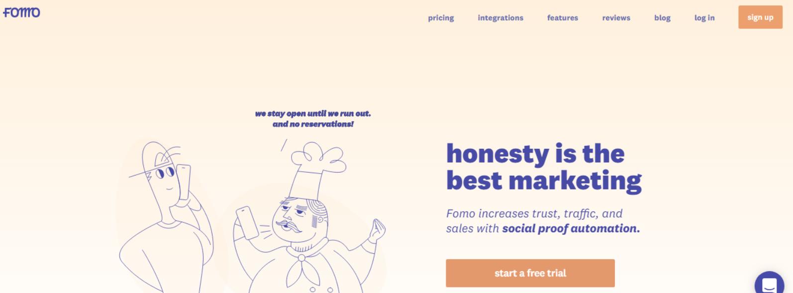 Best Social Proof marketing Tools- Fomo