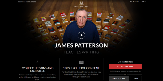 James Patterson MasterClass Review