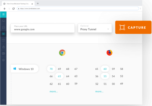 Lambda Test Review- Automated Screenshots