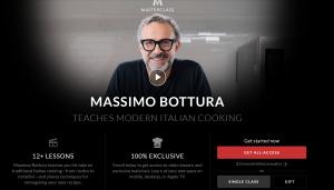 Massimo Bottura Masterclass discount coupons