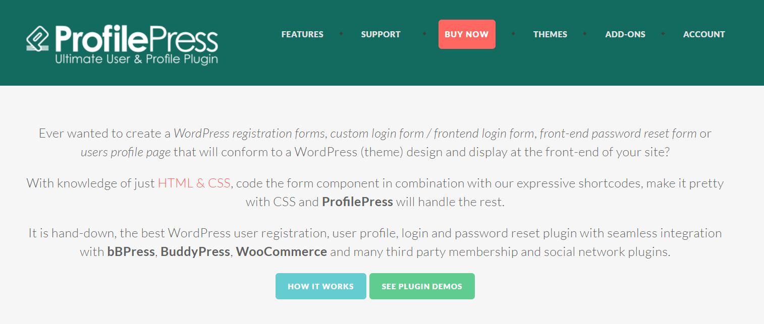 ProfilePress Review- WordPress User Registration Profile Plugin