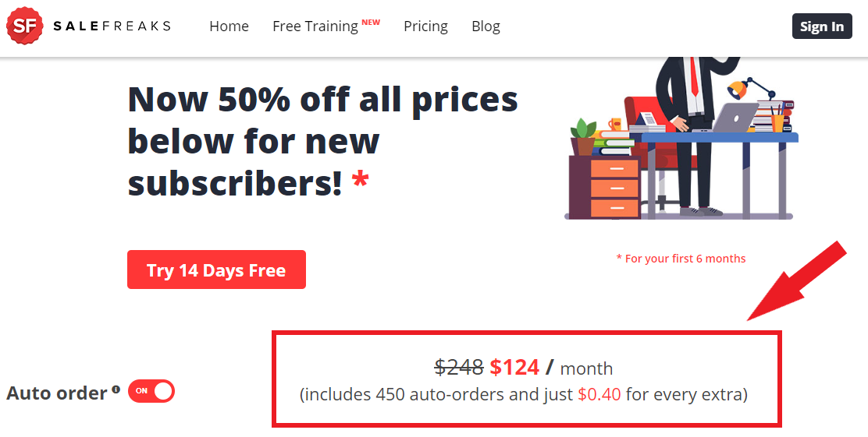 Salefreaks Pricing