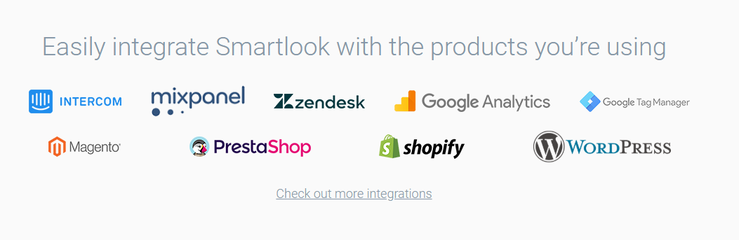 Smartlook integrations