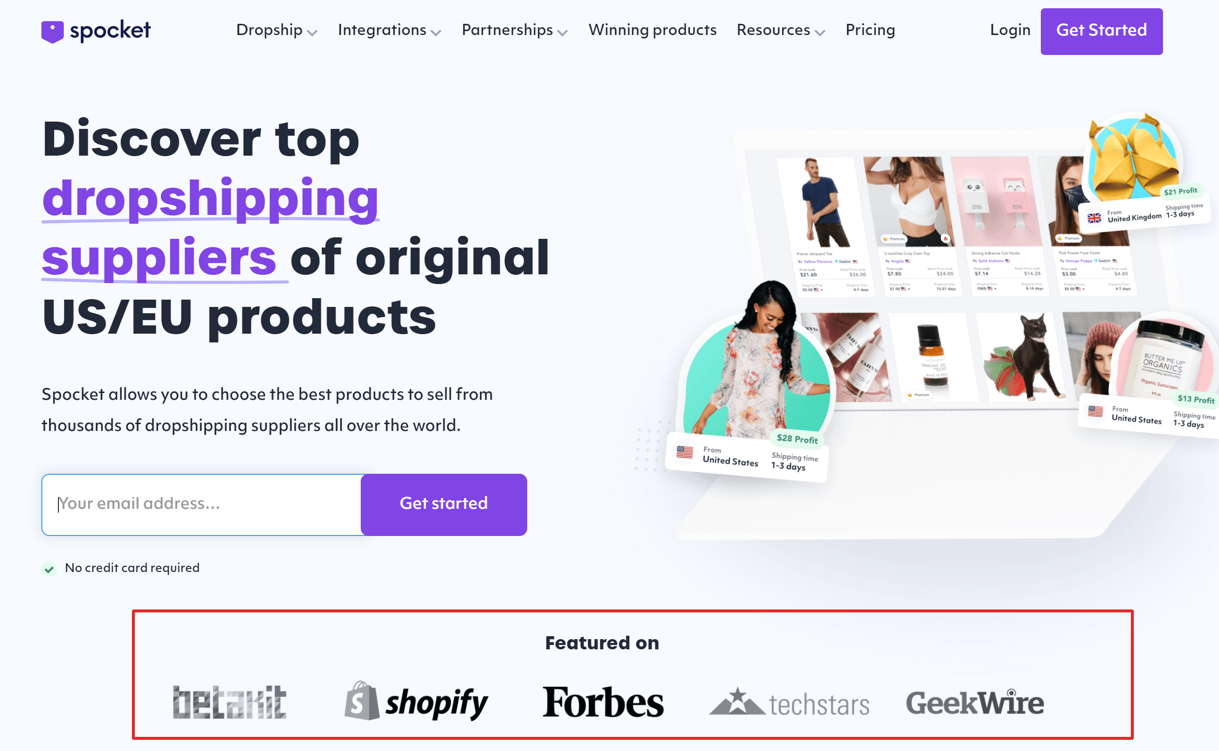 Best Dropshipping Suppliers for US + EU Products