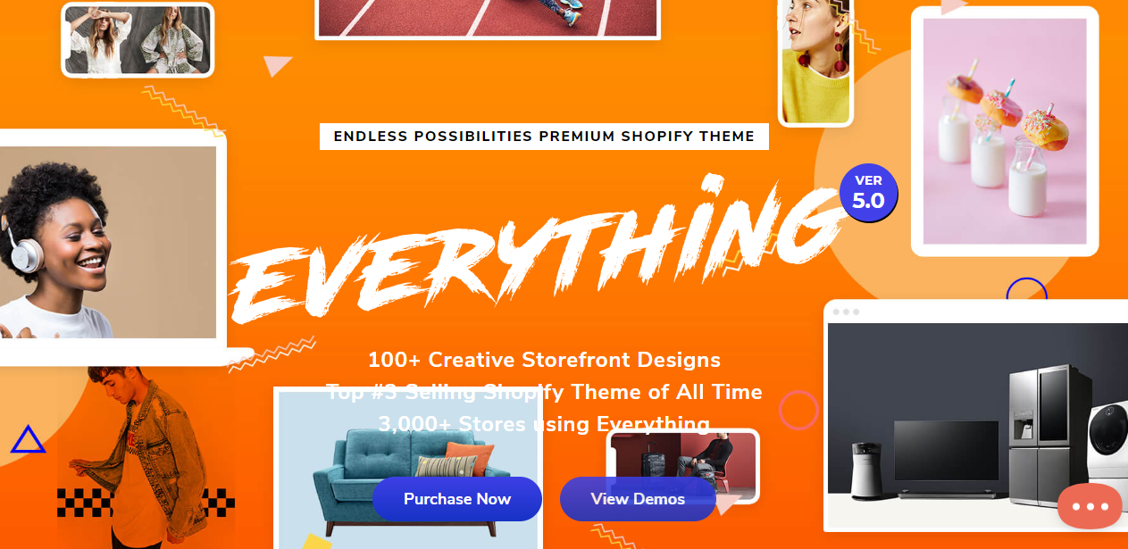 best shopify themes- everything