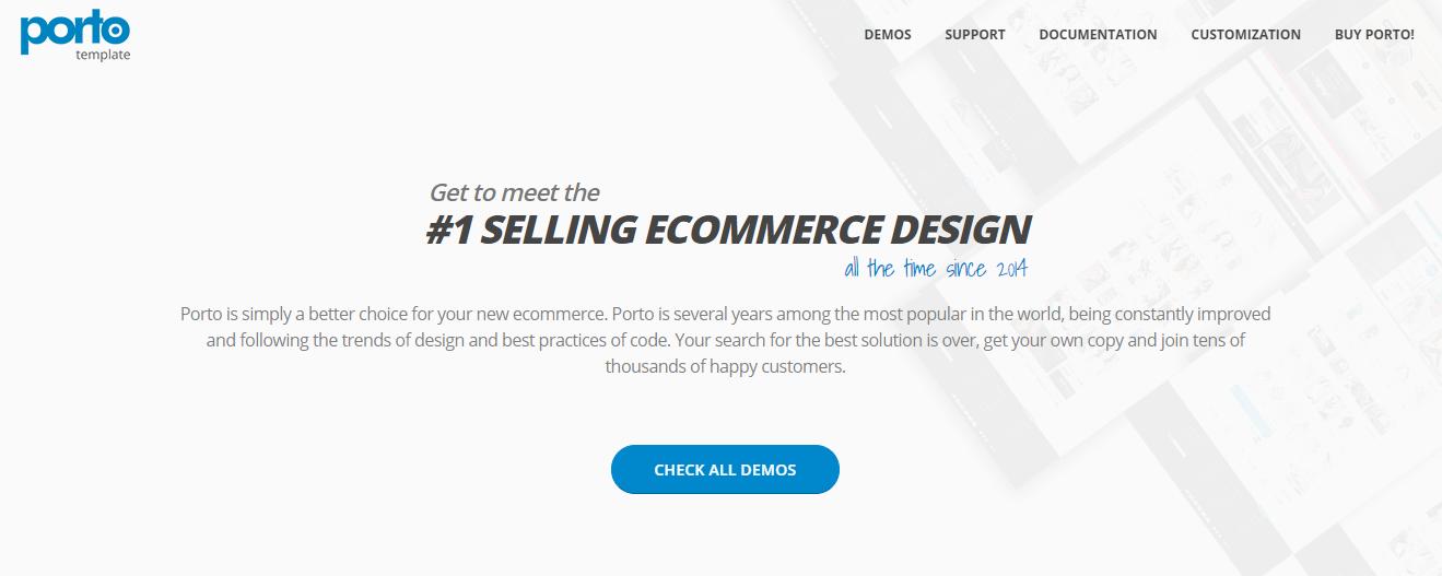best shopify themes- porto