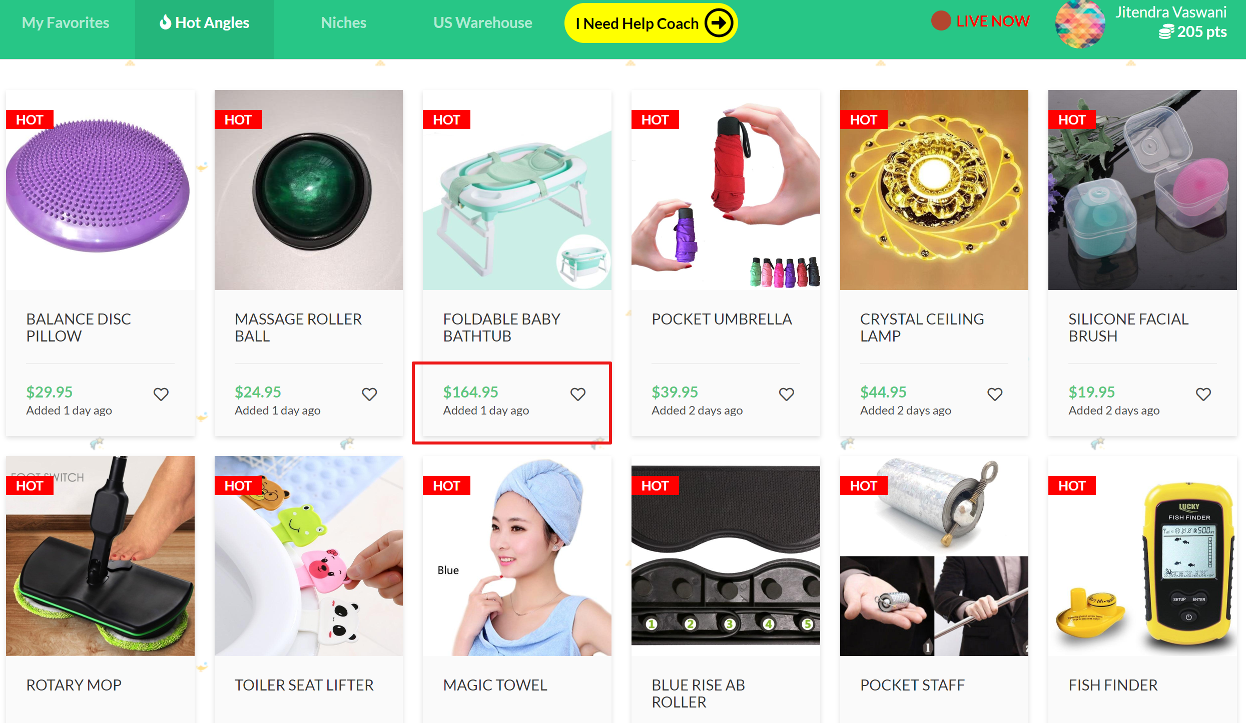 product list genie audience shopify stores