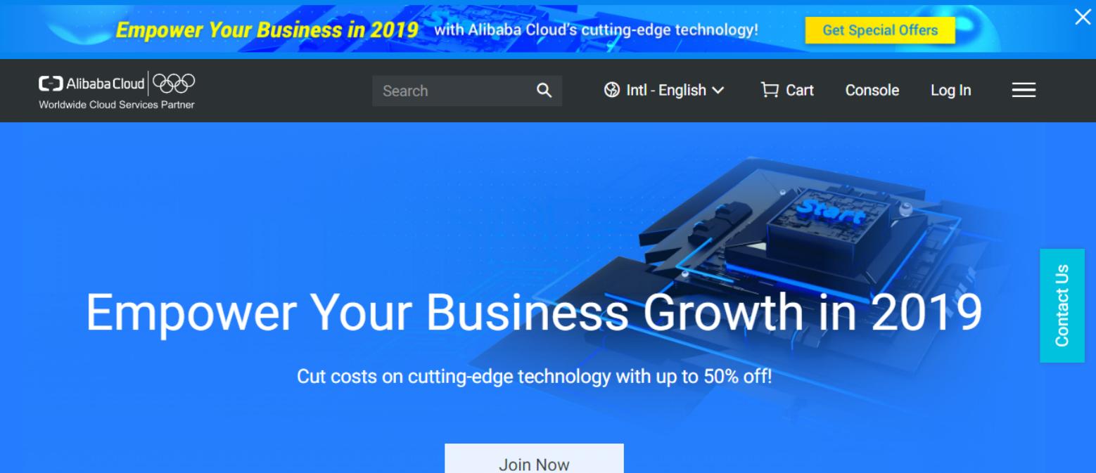 Alibaba Cloud Discount Coupon-Alibaba cloud