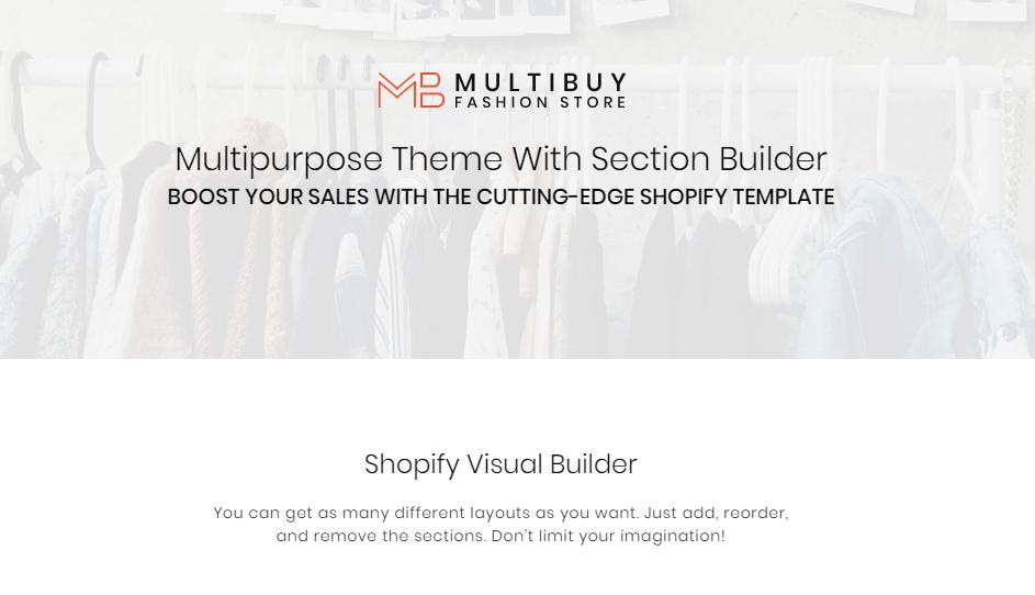 Best Shopify Themes- Multibuy