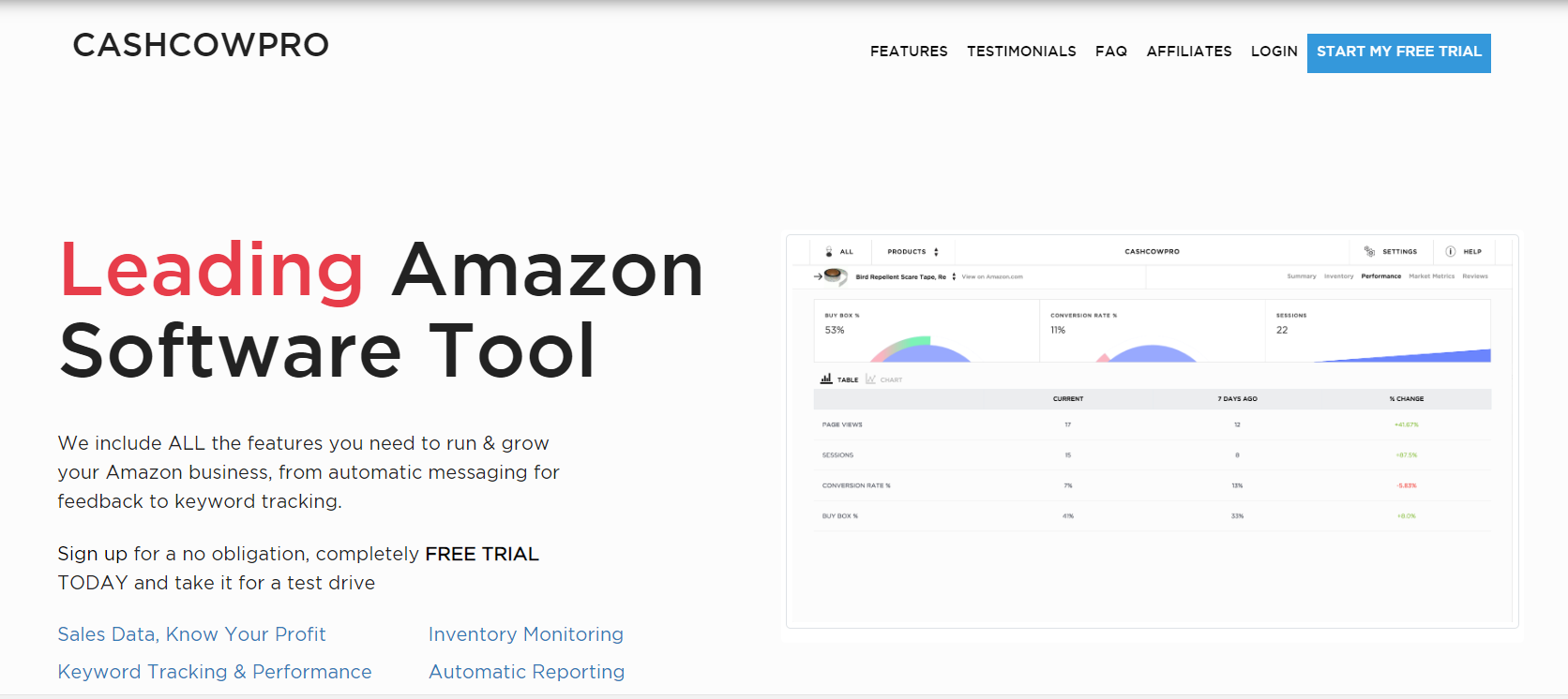 CASHCOWPRO - Winning Analytics for Amazon