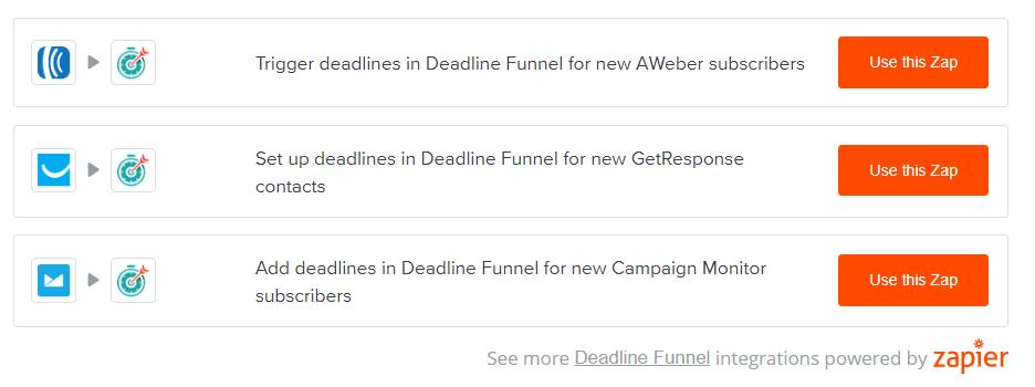 Deadline Funnel Review- Zaiper Integrations