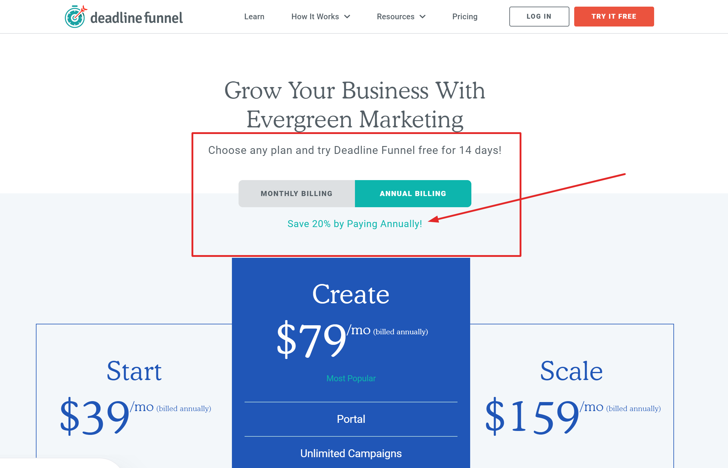 Deadline funnel pricing coupon