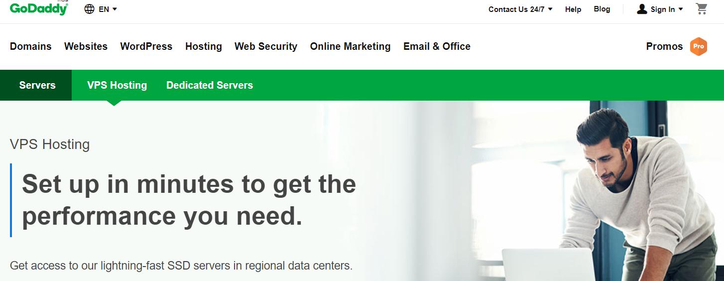 GoDaddy - Best Cloud VPS Hosting