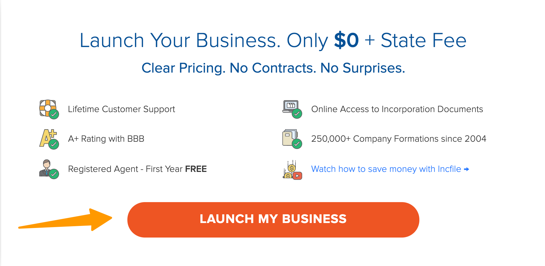 IncFile- Launch My Business For FREE