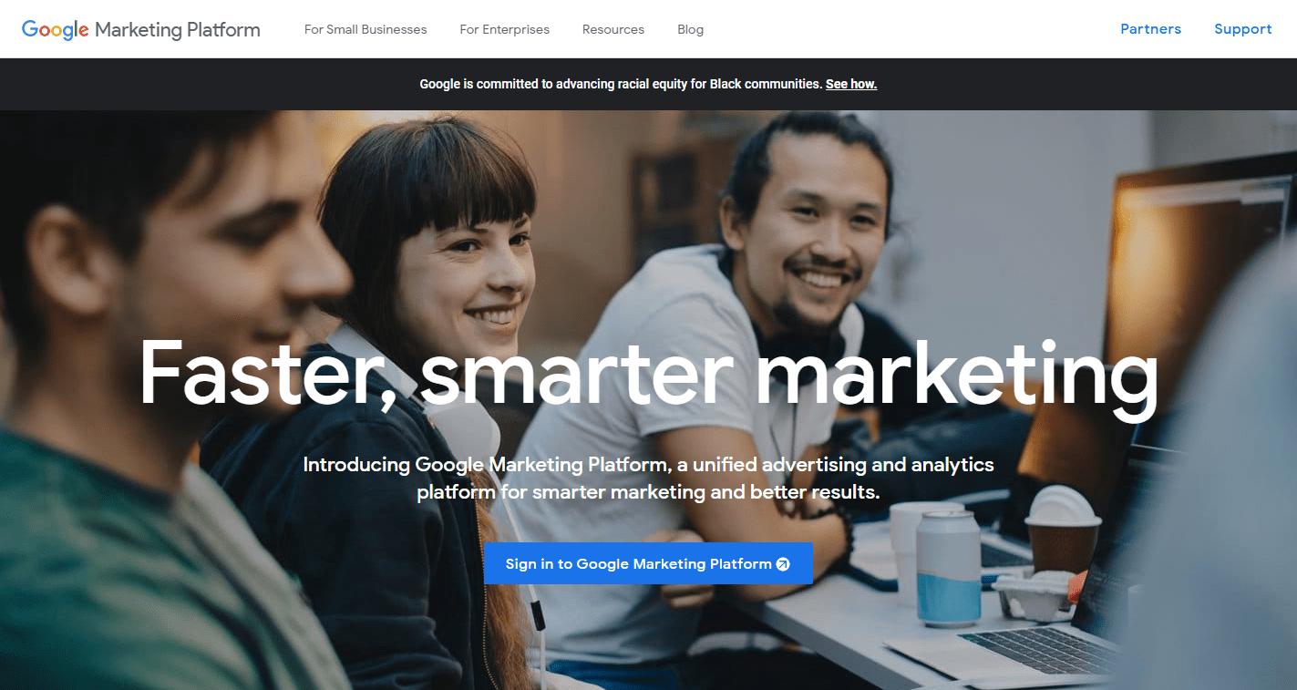 Sellics Alternative - Google-Marketing-Platform
