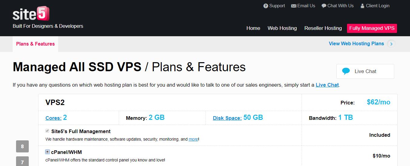 Site5- Cloud VPS Hosting Provider