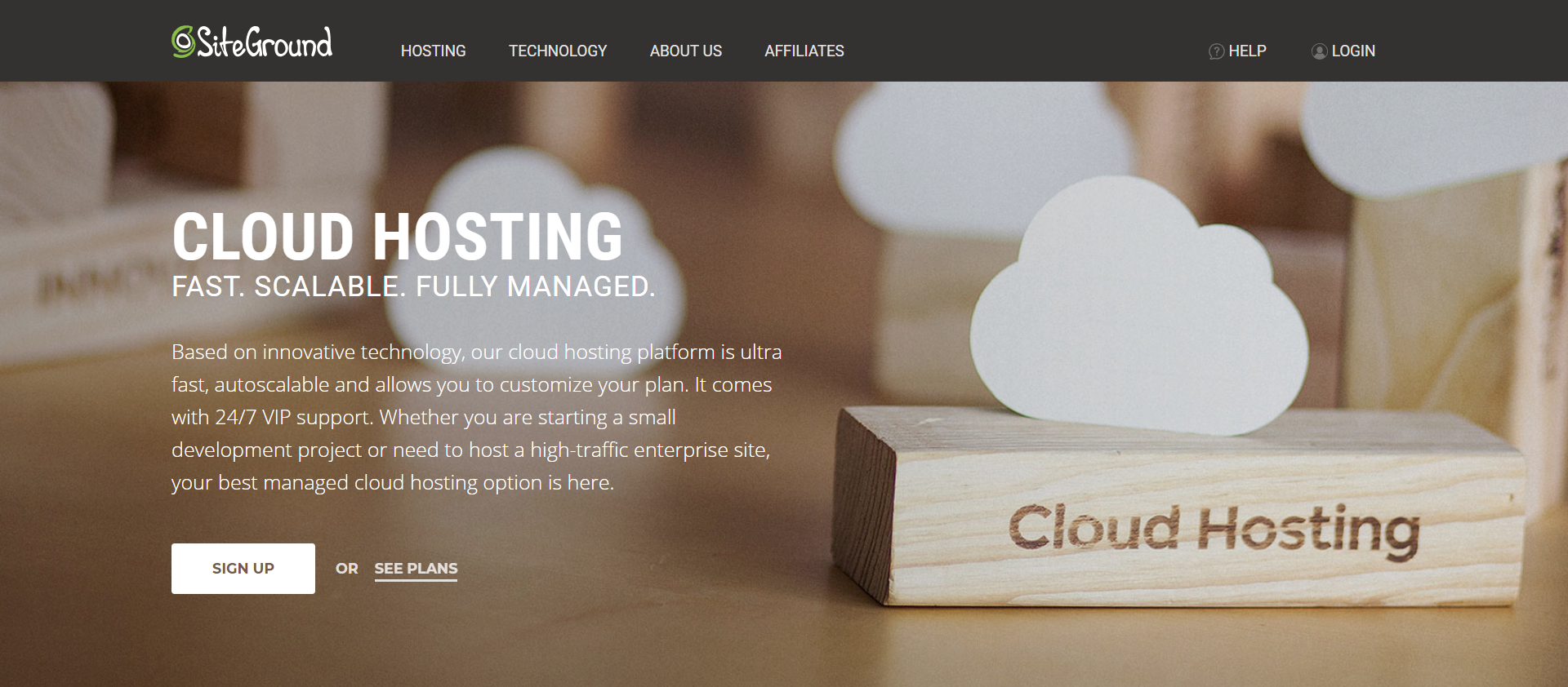Siteground- The Best Cloud VPS Hosting Providers