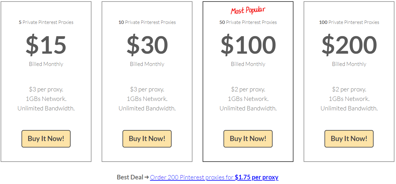 StormProxies Review With Discount Coupon- Pinterest Proxies