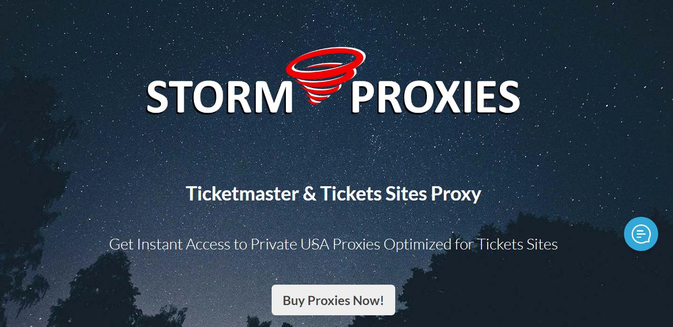 Ticketmaster & Tickets Sites Proxy - Storm Proxies