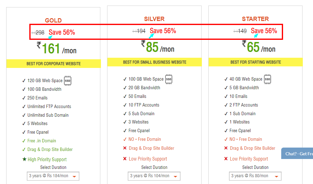 HostingRaja Review With Discount Coupon Code-Affordable plan