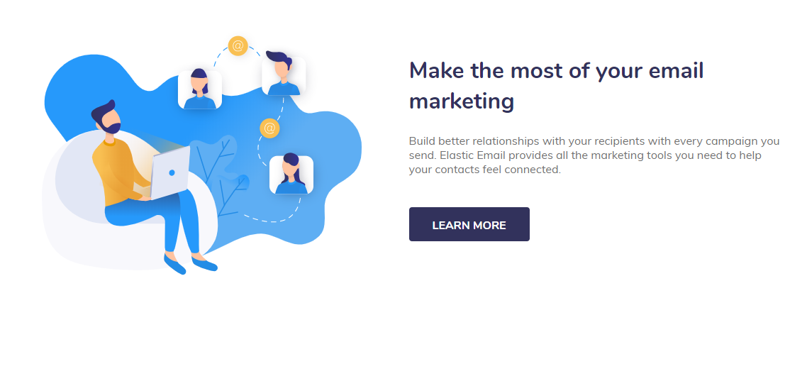 elastic email review- marketing