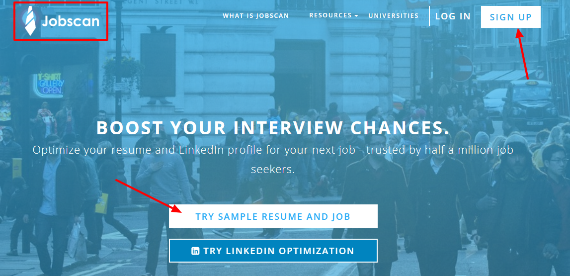 Jobscan Coupon code-interview chances